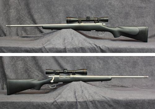 中古 ライフル レミントン M700 チタニウム 30-06 IMP40 スコープ付き