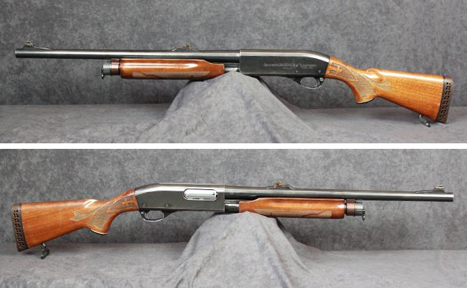 中古 ショットガン レミントン M870 12-20 スラッグ 替銃身付
