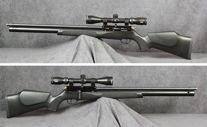 中古 エアライフル FXエアーガンズ サイクロン 5.5mm スコープ付