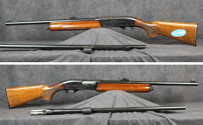中古 ショットガン レミントン M1100 12-22 スラッグ 替銃身付 28