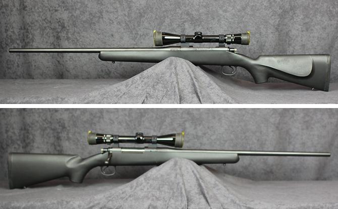 中古 ライフル コルト ライトライフル 7mm REM MAG スコープ付