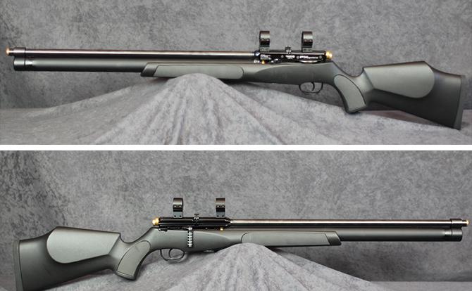 中古 エアーライフル FXエアーガンズ FXサイクロン 5.5mm ポンプ付