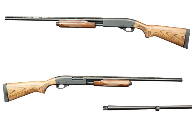 新銃 ライフル レミントン M870 エクスプレスコンボ 20-26 交換チョーク式