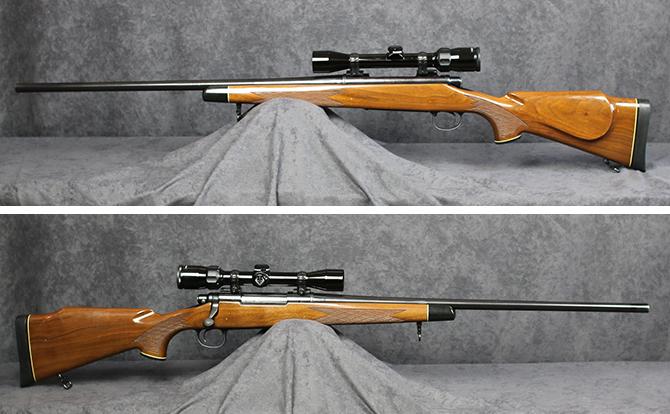 中古 ライフル レミントン M700BDL 300WIN MAG スコープ付