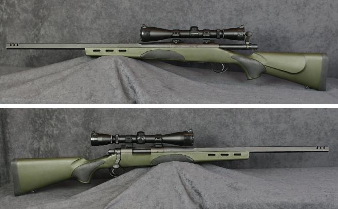 中古 ライフル レミントン M700VTR 243WIN スコープ付