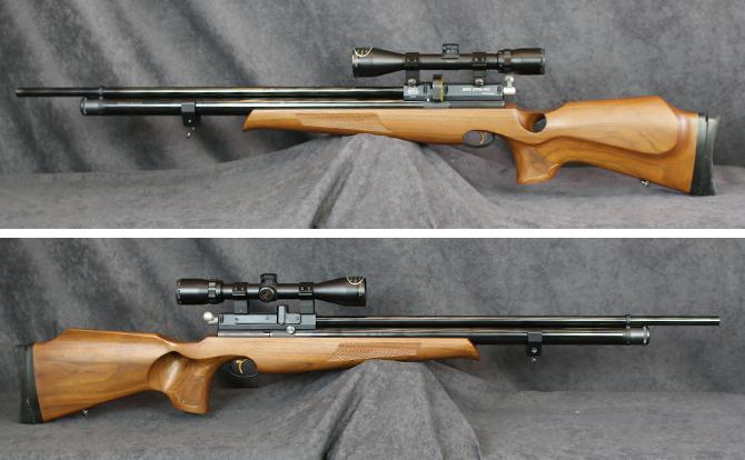 中古 エアーライフル エアーアームス S410 5.5mm ポンプ付