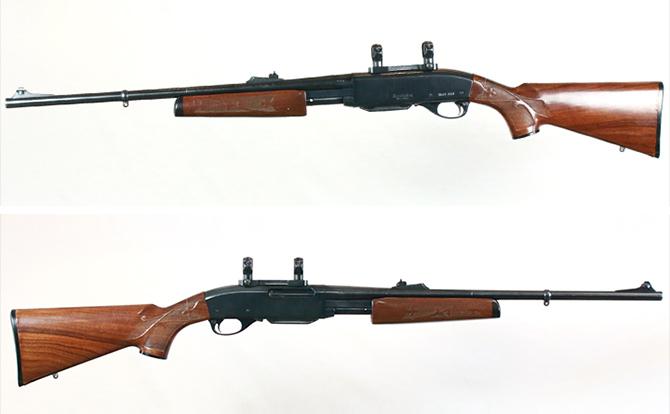 中古 ライフル レミントン M7600 30-06