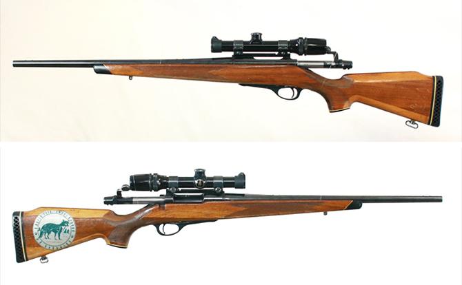 中古 ライフル レミントン M660 350レミントンMAG