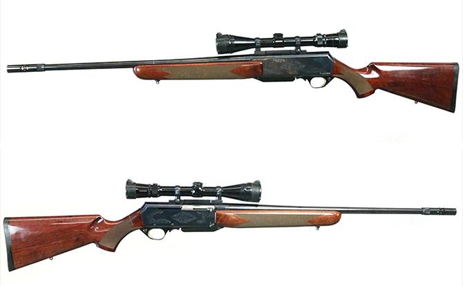 中古 ライフル ブローニング BARマーク2 300WINMAG スコープ付