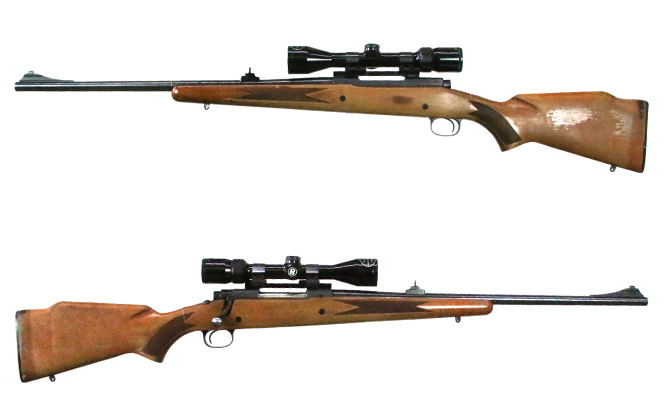 中古 ライフル ウィンチェスター M670 308WIN スコープ付
