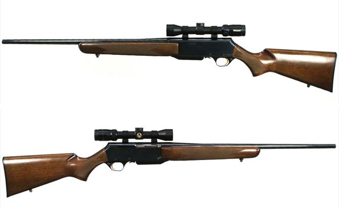 中古 ライフル ブローニング BARマーク2 30-06 ビクセン2-8×32スコープ 替弾倉1個付