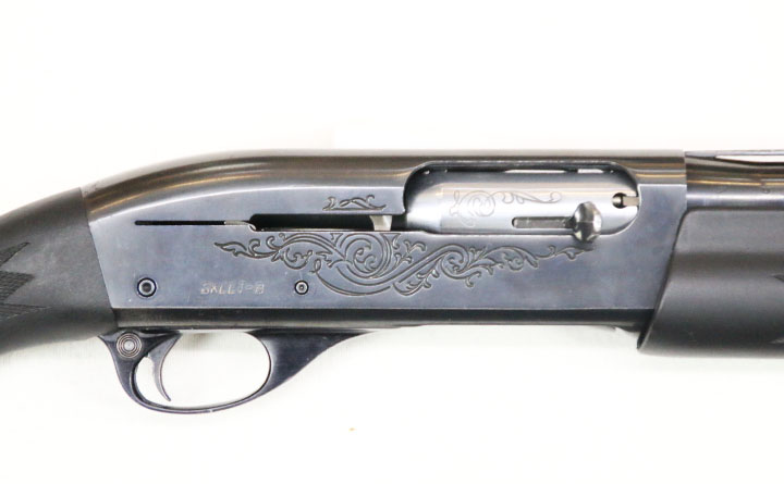 "【SOLD OUT】中古散弾銃 レミントン M1100 12-26""替え銃身付き"
